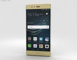 Huawei P9 Prestige Gold 3D touchscreen