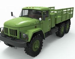 game-ready 3d model zil 131
