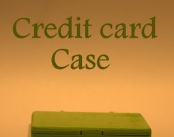 Credit Card Case 3D print model