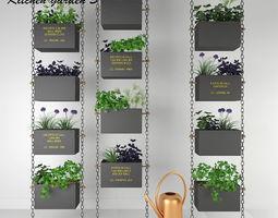 Kitchen garden Collection 3 3D model