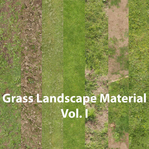 grass landscape material vol i 3d model uasset 1