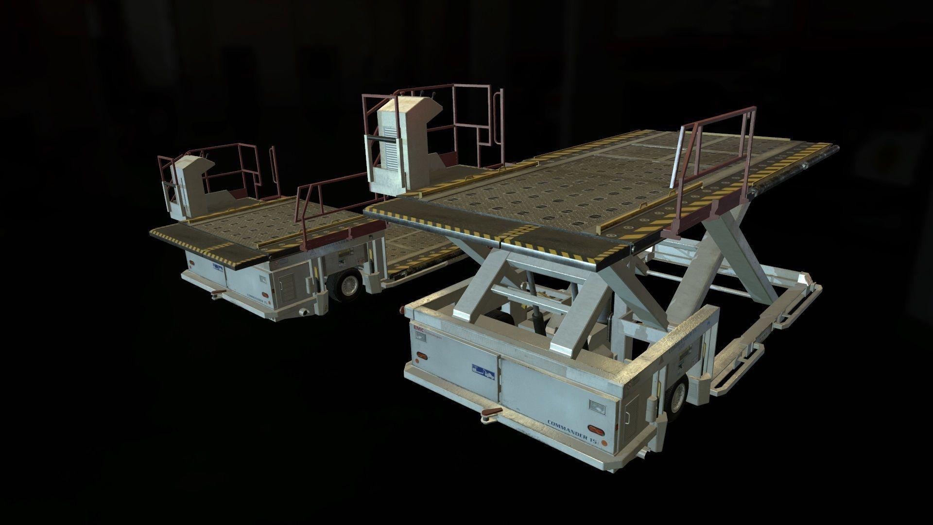 Airport Cargo Loader