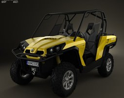 BRP Can-Am Commander XT 2012 3D model