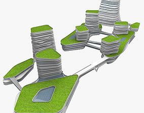 3D Commercial Building