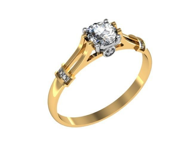 Ring classic diamond set