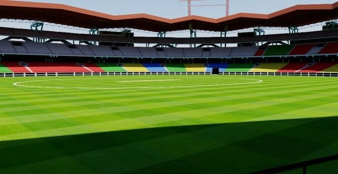 jawaharlal nehru stadium - kochi 3d model obj mtl fbx dxf dae dwg skp 1
