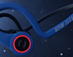 3D model Plantronics BackBeat Fit Power Blue