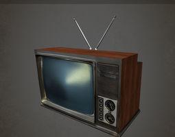 Old Television Camera Studio TV Please Rate Free 3D Model MAX