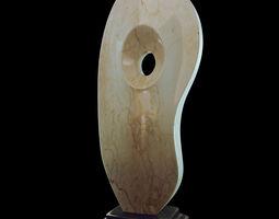 marble stone figure 3d print