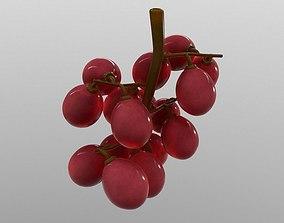Grapes 3D asset