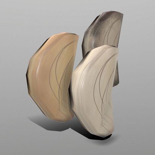 garlic 3d model low-poly fbx unitypackage prefab 1
