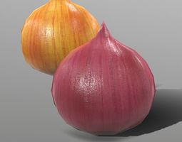 3D model game-ready Onion
