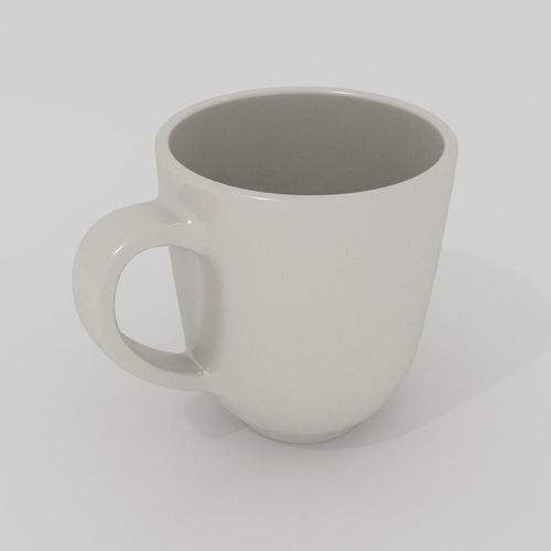 coffee mug model 3d model obj mtl ma mb blend 1