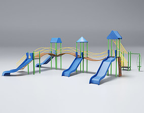 3D model Playground Blue