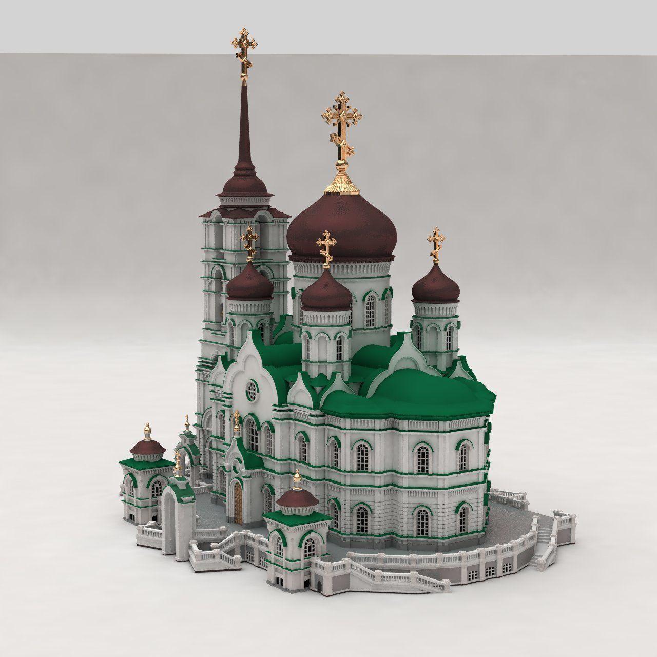 Annunciation Cathedral  Voronezh