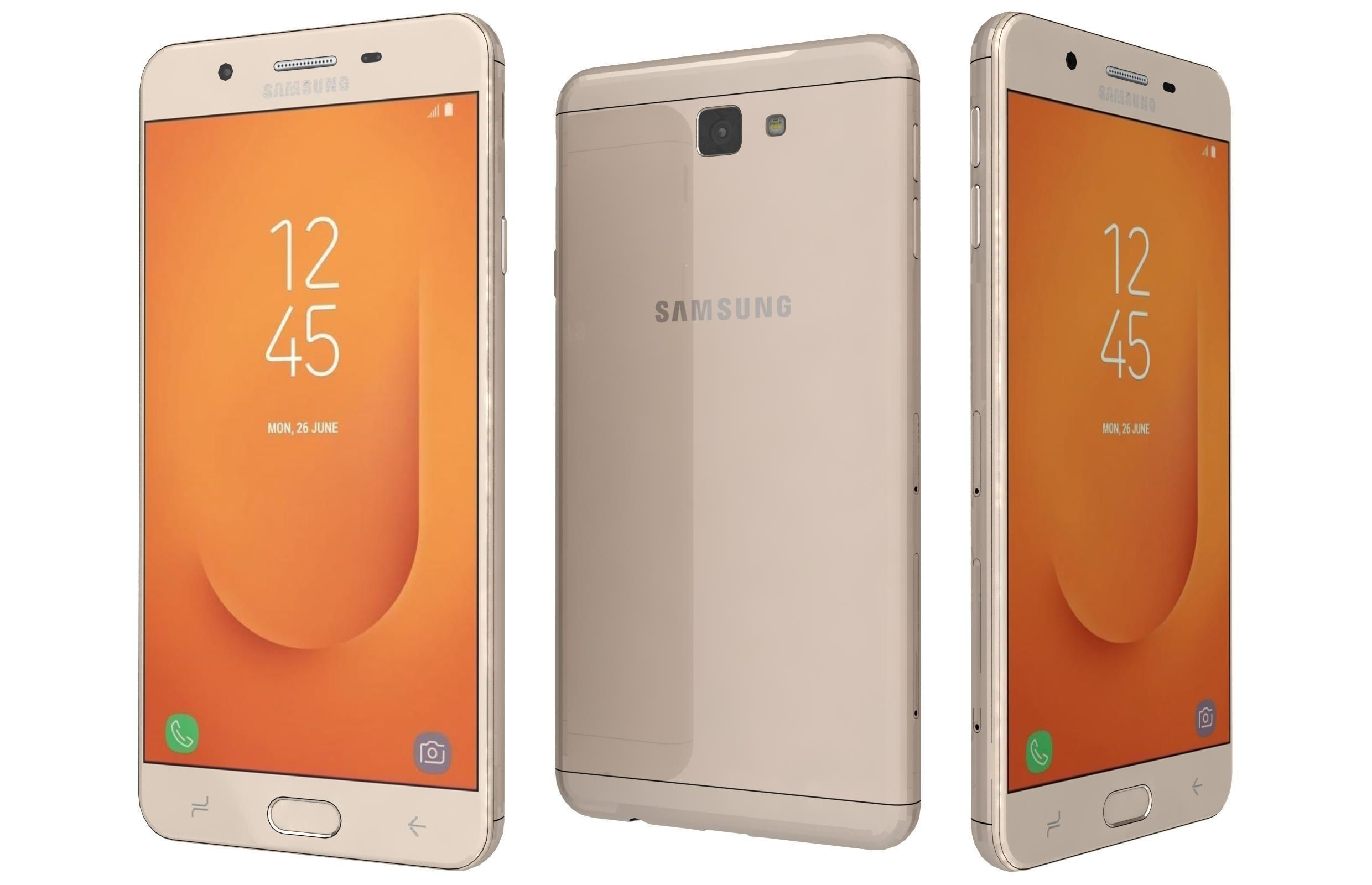 Samsung Galaxy J7 Prime 2 Gold | 3D model