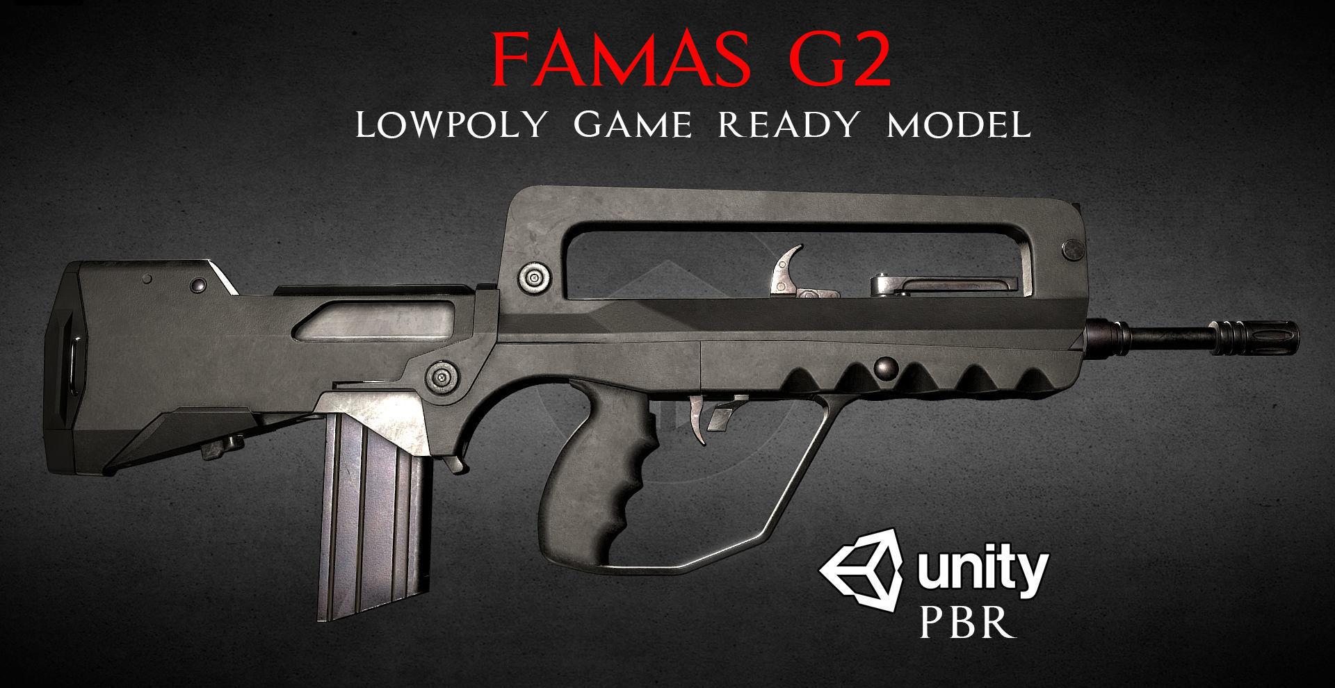 FAMAS G2 Assault Rifle