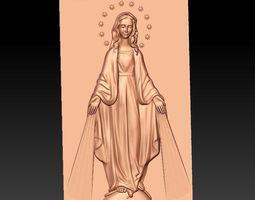 Virgin Mary 3D model madonna