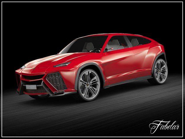 Lamborghini Urus Vray 3d Cgtrader