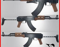 Ak-47 Bend holder 3D model