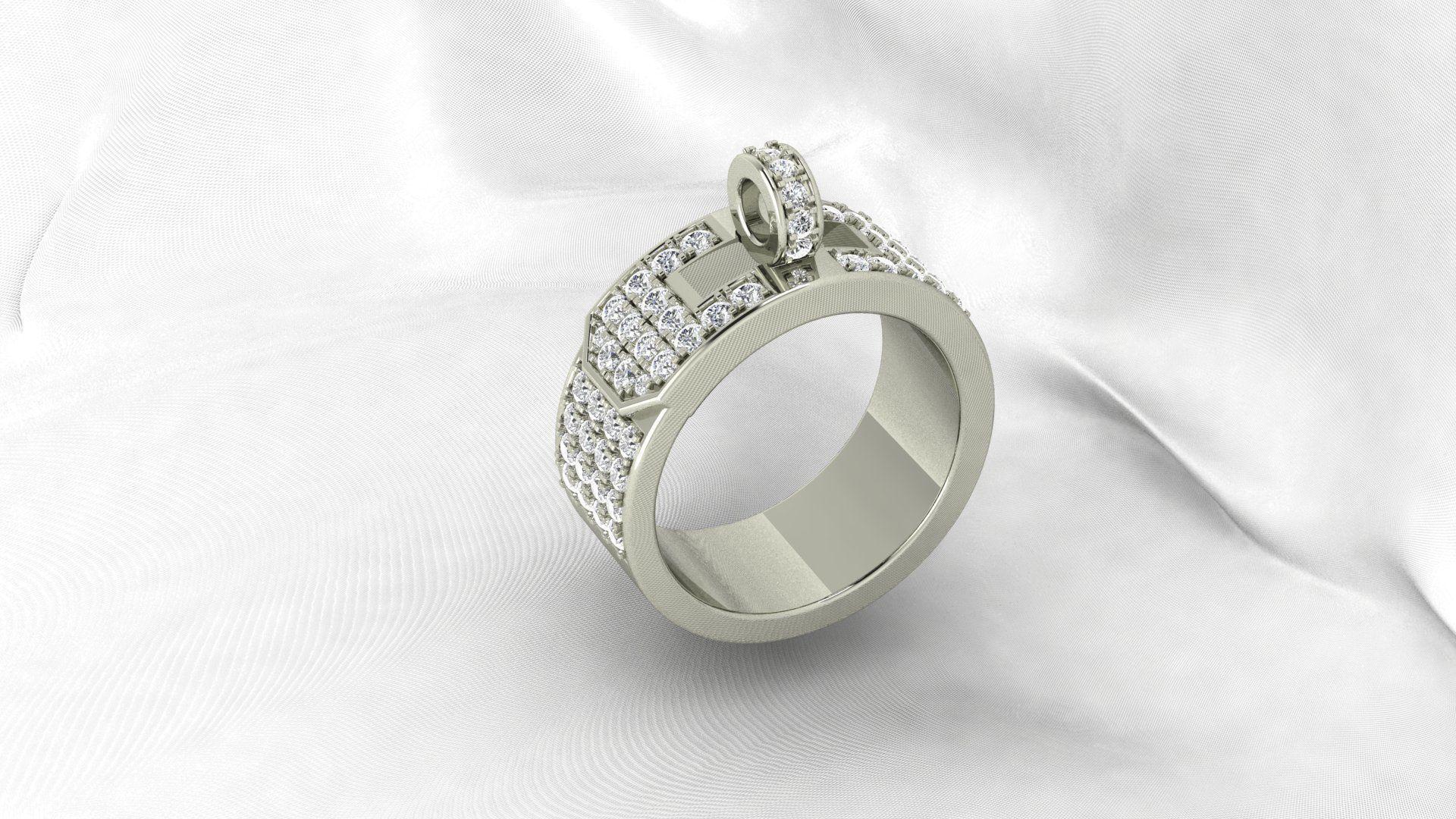 cc2b8f858c24 ... where to buy hermes diamond ring 3d model stl 3dm 2 930ba 9be0e