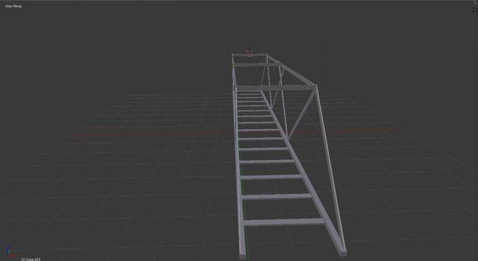 ho scale model train bridge 3d model obj mtl 3ds fbx stl x3d ply 1