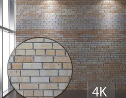 Brickwork amber 139 3D asset