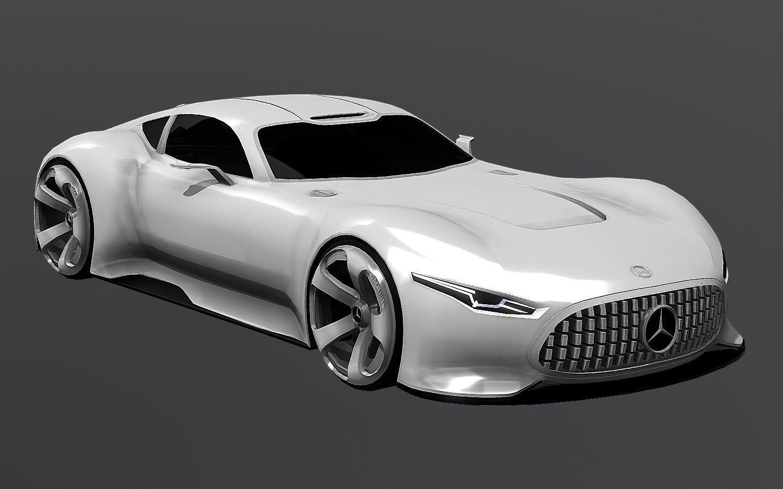 3D asset Mercedes-Benz Vision Gran Turismo | CGTrader