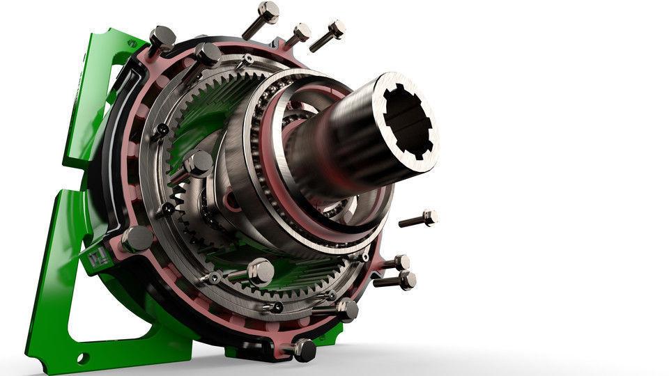 Planetary gearbox scifi  gear