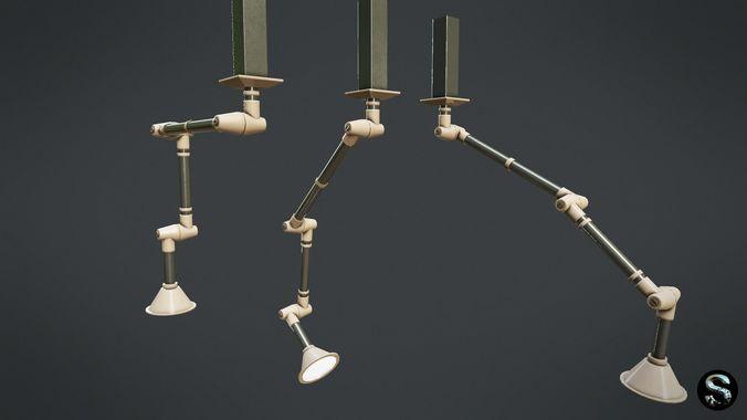 Laboratory Lamp