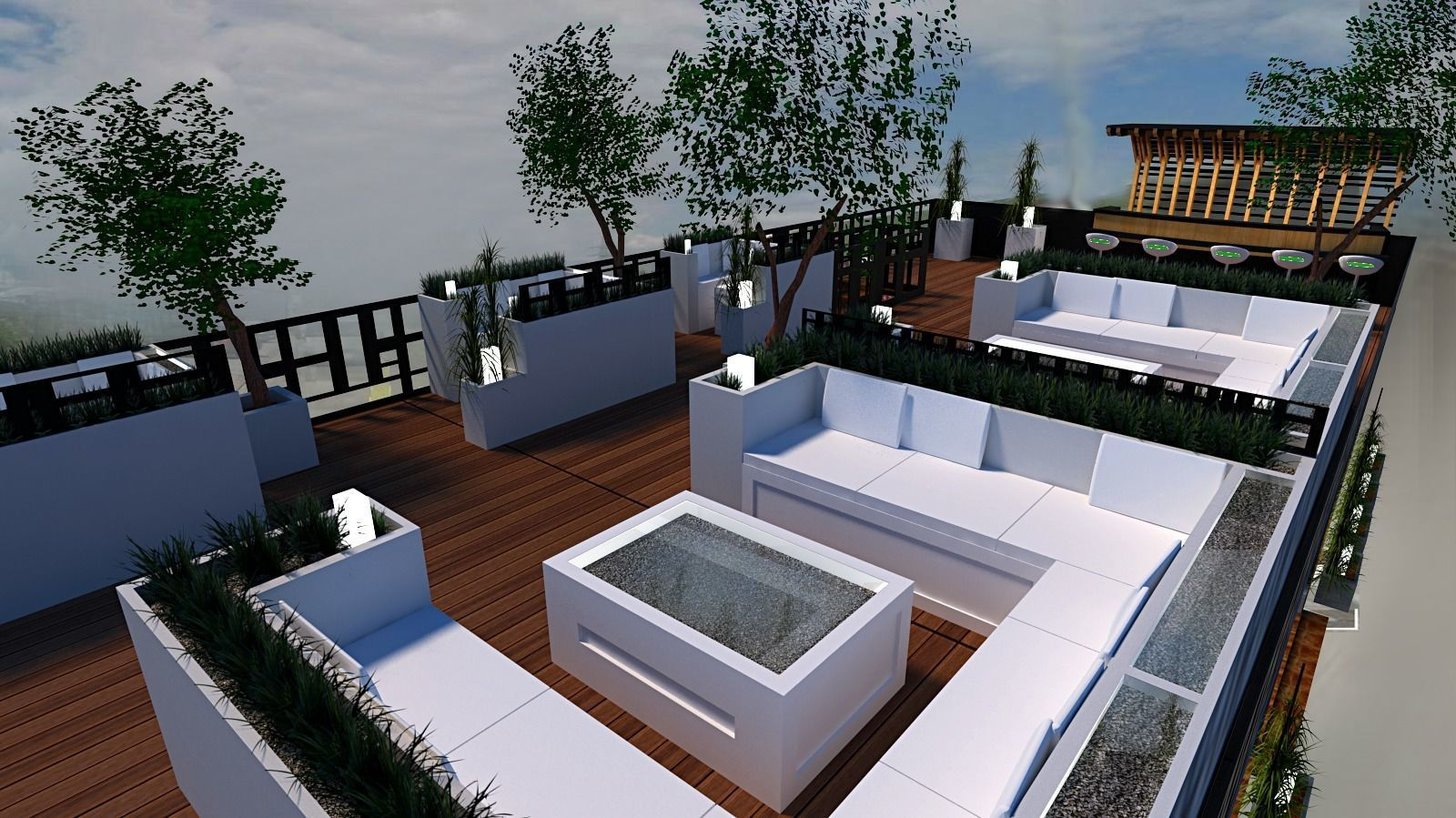 roof top terrace lounge bar