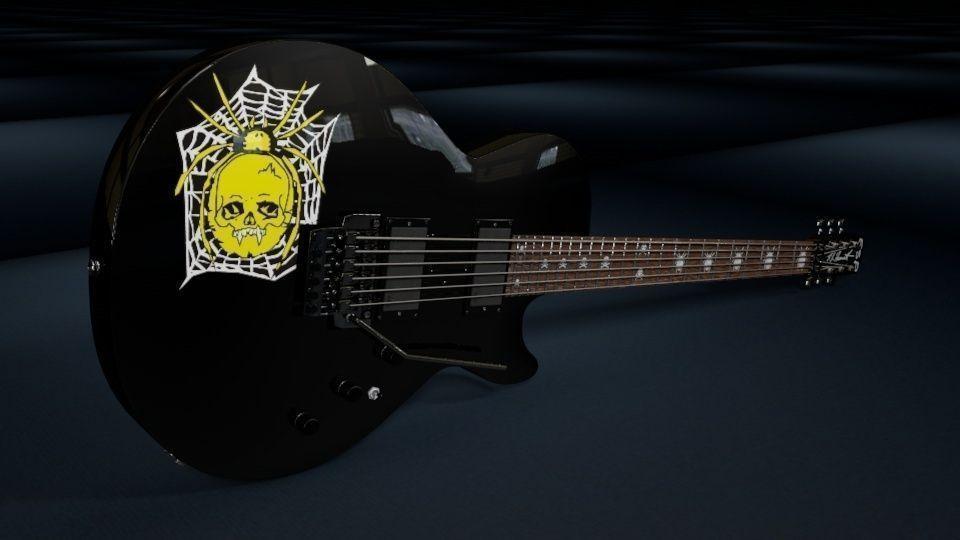 Kirk Hammett ESP KH-3 SpiderSkull