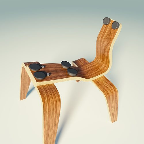 eames lounge chair wood lcw 3d asset cgtrader & Eames Lounge Chair Wood Lcw. chair extraordinary eames lounge chair ...