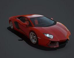 Lamborghini Aventador Coupe 3D model
