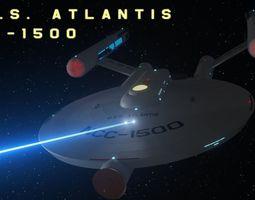 3D Atlantis Class Light Cruiser