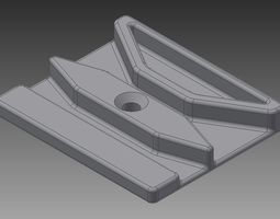 3D printable model aligner for needle