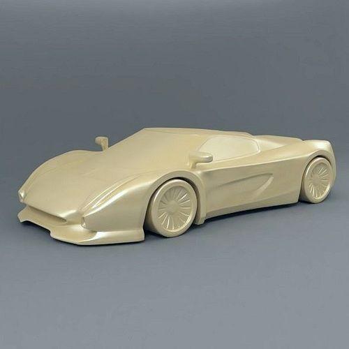 3d supercar concept 3d model stl 1