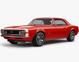 Chevrolet Camaro SS 1967 3D model
