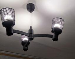 Chandelier Lamp modular E-14 3d print