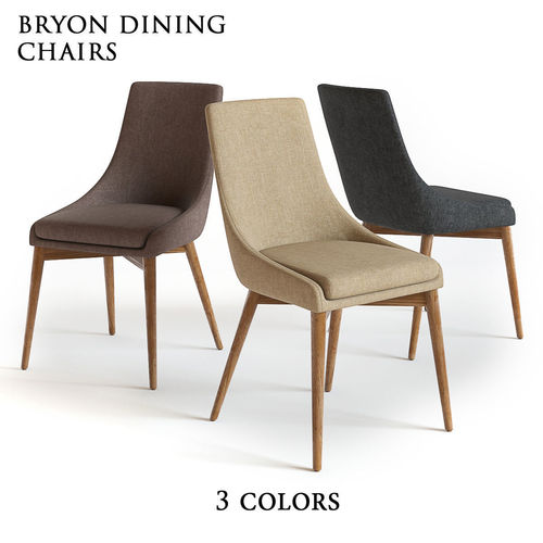 Pottery Barn   Bryon Dining Chair 3D Model