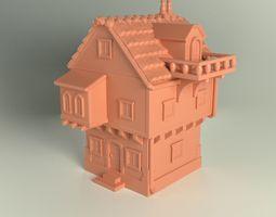 Fantasy House 3D printable model