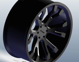 3D model Heavy duty Rim