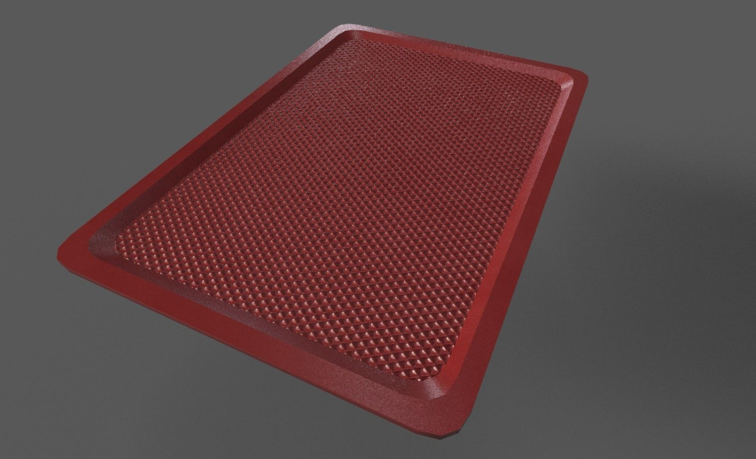 Plastic Tray 3D asset realtime | CGTrader