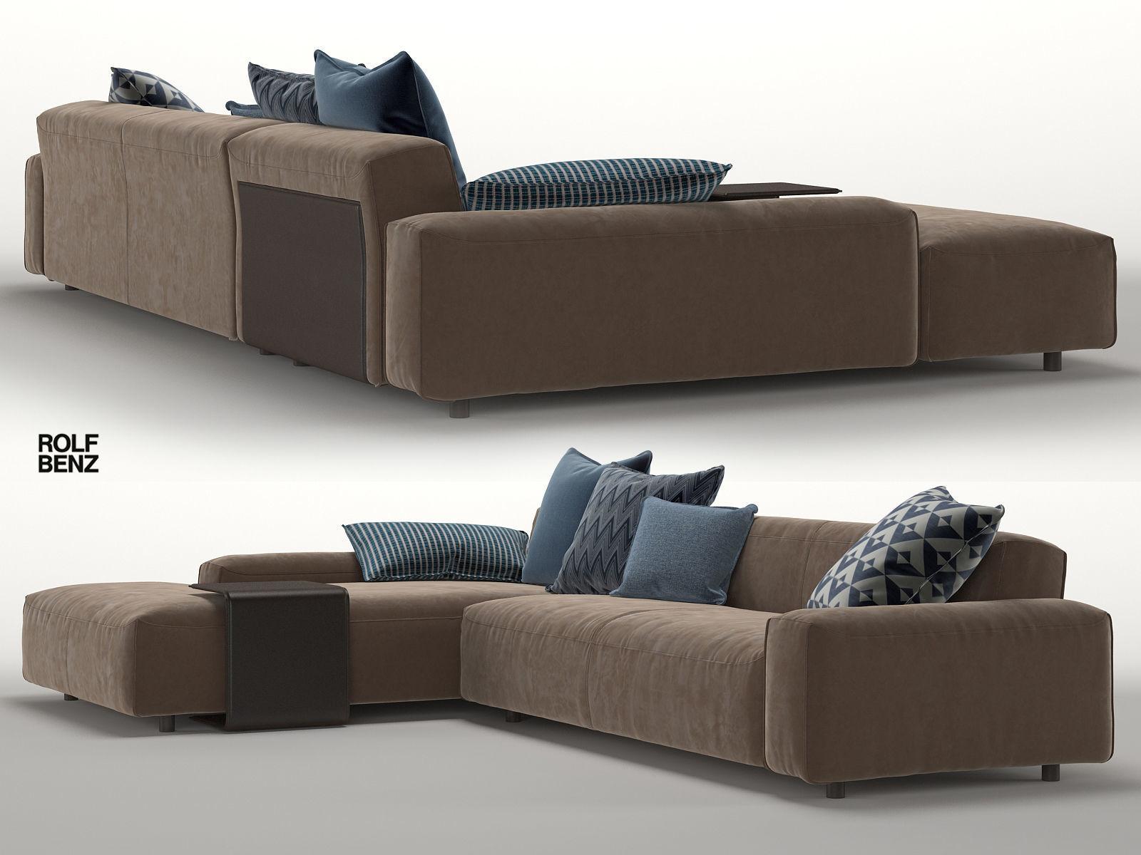 Unglaublich Sofa Benz Dekoration Von Rolf Mio 3d Model Max Fbx 1