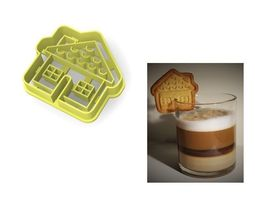 3D print model House cookie cutter