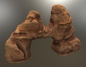 ARID ARCH DESERT CANYON ROCK 3D asset