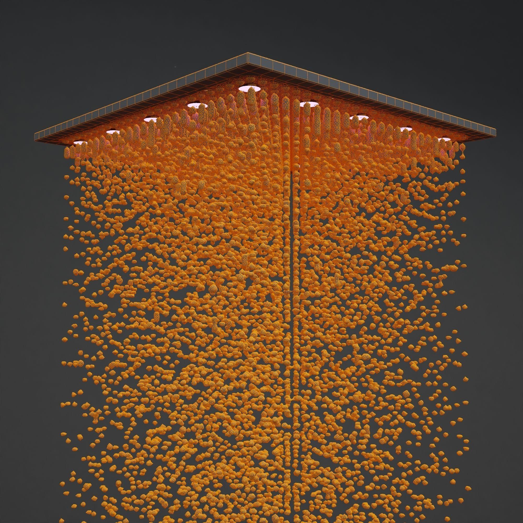 3D model Rain shower | CGTrader