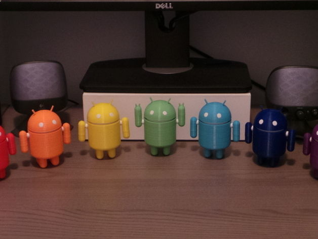 android robot 3d model stl 1