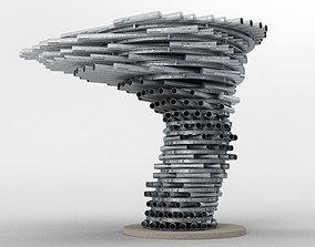 The Singing Ringing Tree 3D model