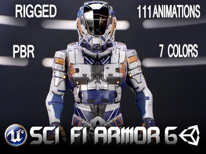 Sci-Fi Armor 6